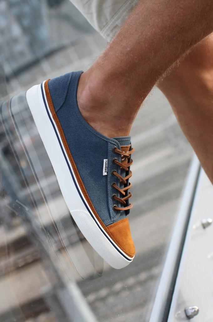 Noodles sneaker - Jet low navy