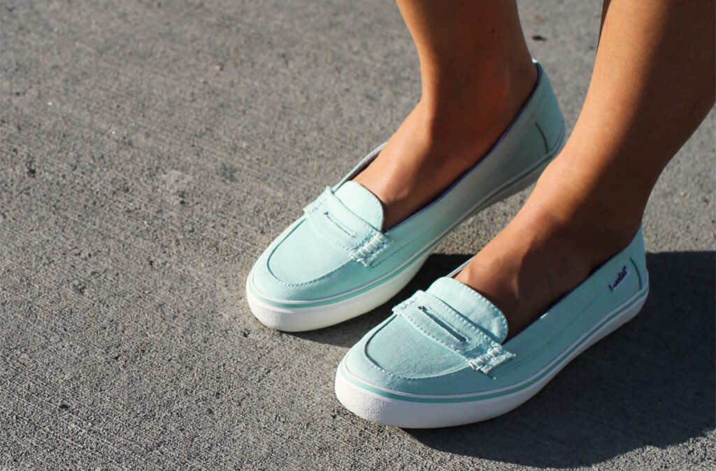 SNEAK PEEK | Kon Tiki mint loafer