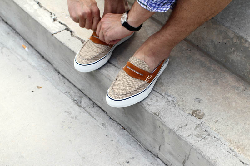 The one that got away | Cruizer slip-on jute
